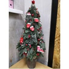 "Christmas tree ""Happy"""