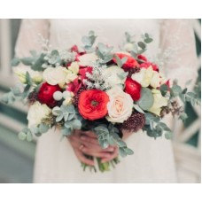 "Wedding bouquet ""Winter"""