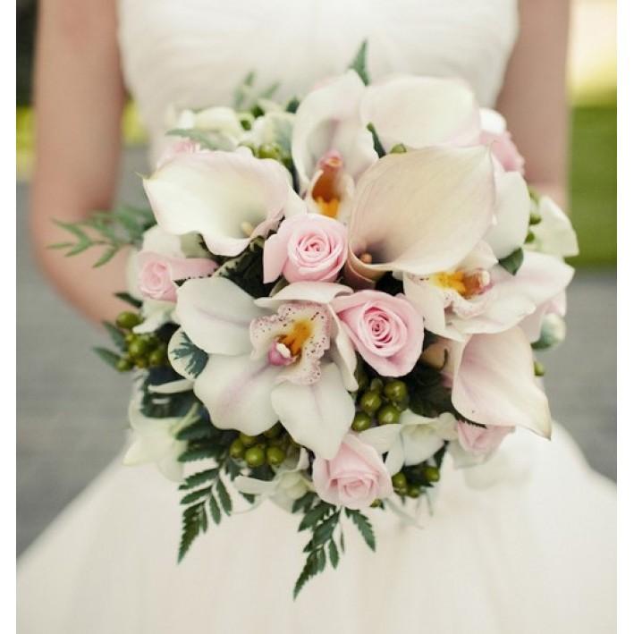 "Wedding bouquet ""Pearls"""