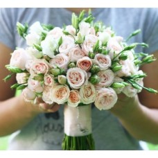 "Wedding bouquet ""Bohemia"""
