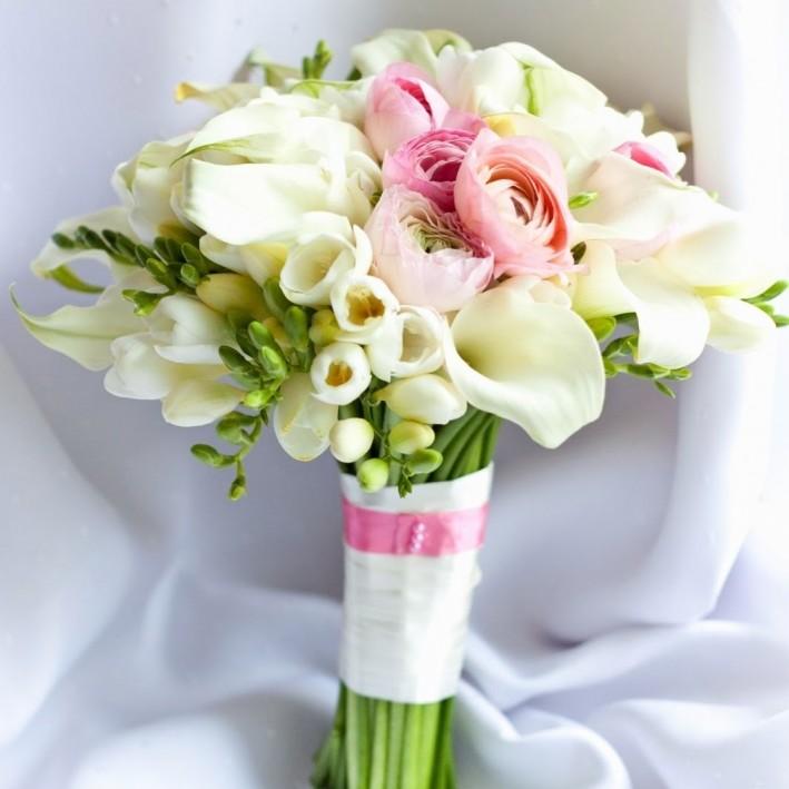 "Wedding bouquet ""Snow White"""