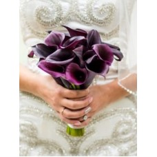 "Wedding bouquet ""Plum"""