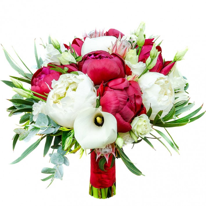 "Wedding bouquet ""Protea"""