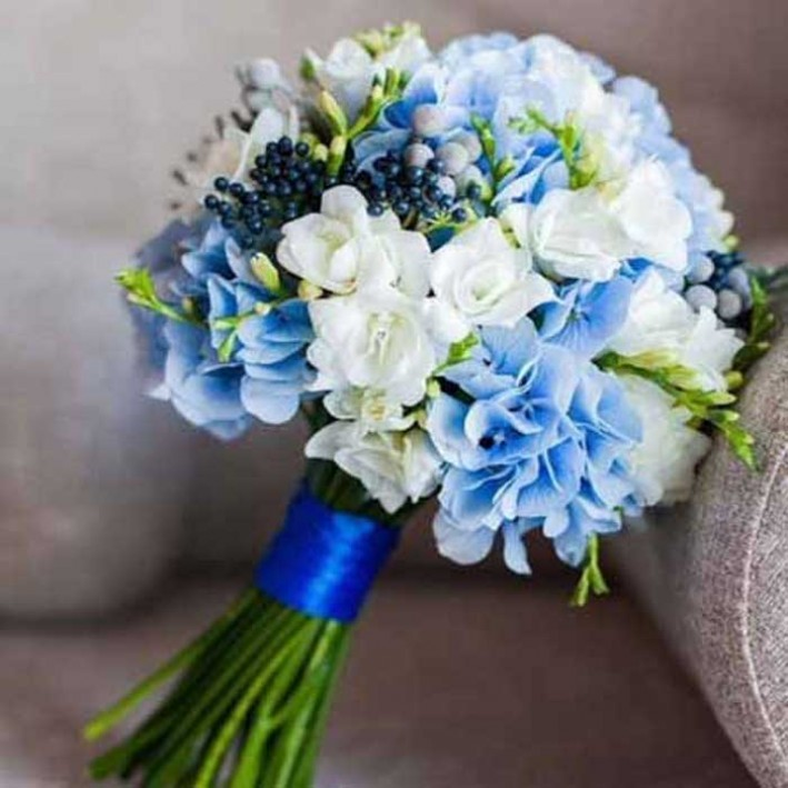 "Wedding bouquet ""Berries"""