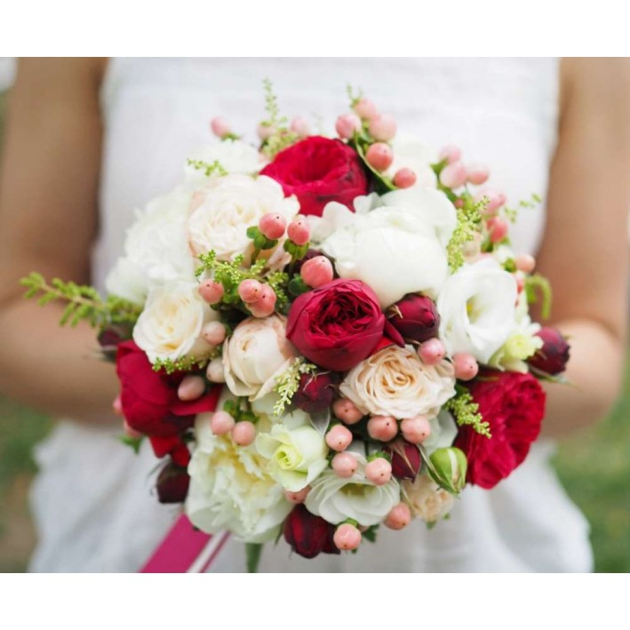 "Wedding bouquet ""Freesia"""
