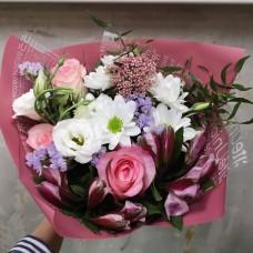 Bouquet  schoolgirl