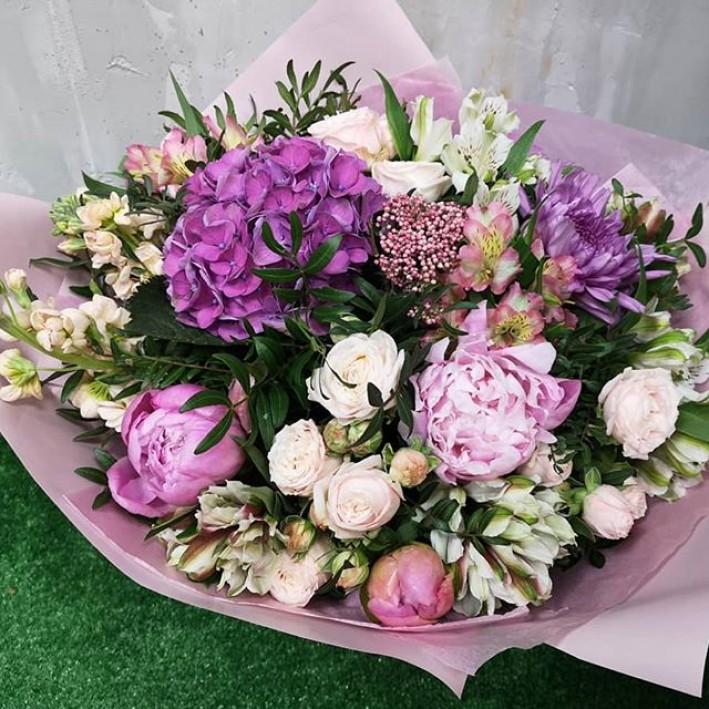 "Bouquet ""Peonys happiness"""