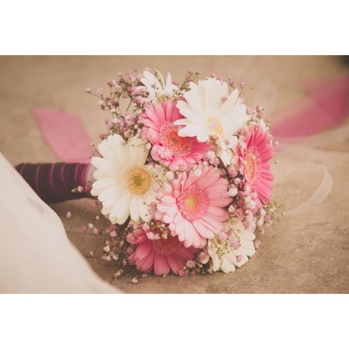 "Wedding bouquet ""Gypsophila"""