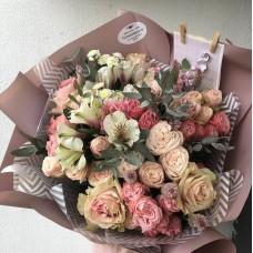 """Bouquet """"Pale pink"""""""
