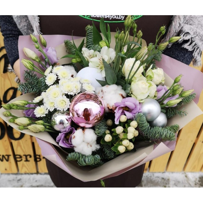 "Bouquet ""Happy New Year1"""