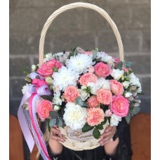 "Basket ""Happy smile"""