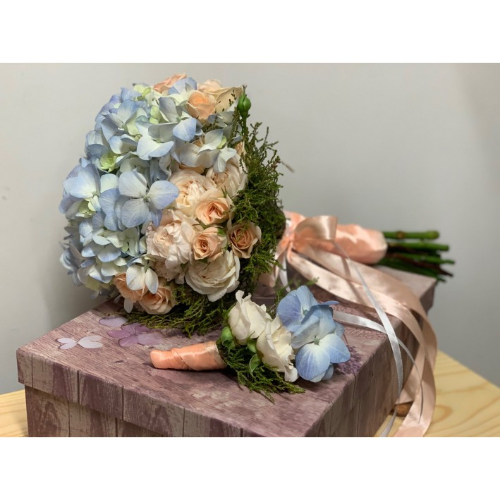 "Wedding bouquet ""Lunopark"""