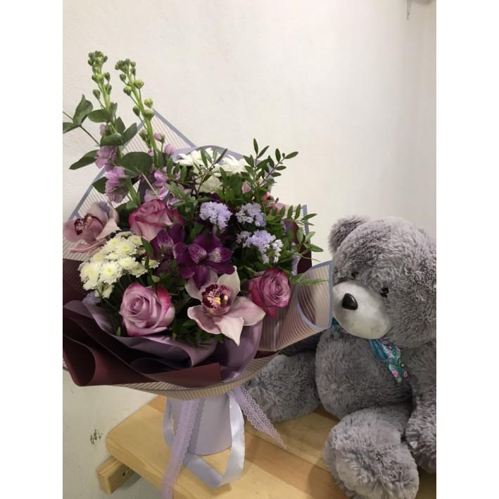"""Bouquet """"Violet"""""""
