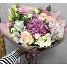 "Bouquet ""Lilac Cloud"""