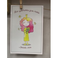 "Greeting card ""All flowers for you"""