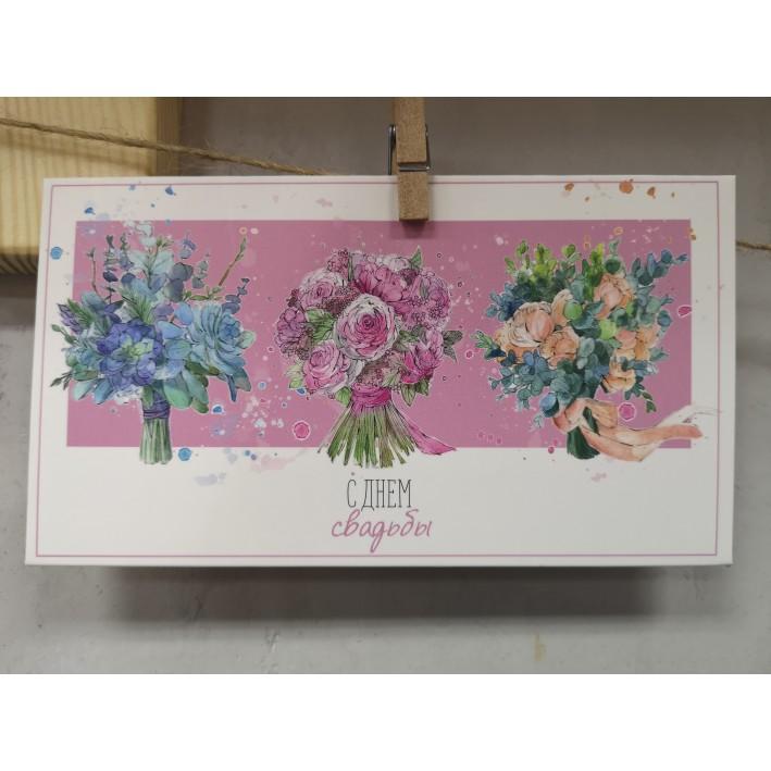 "Postcard-envelope ""Happy Wedding"" 2"