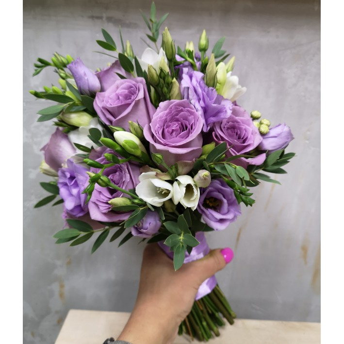 "Wedding bouquet ""Lilac"""