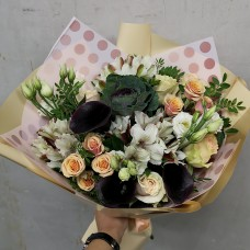 "Bouquet ""Creme Brulee"""