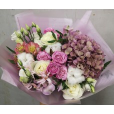 "Bouquet ""Cotton3"""