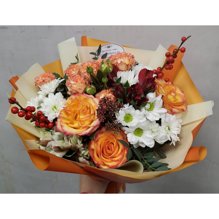"Bouquet ""Orange Juice"""