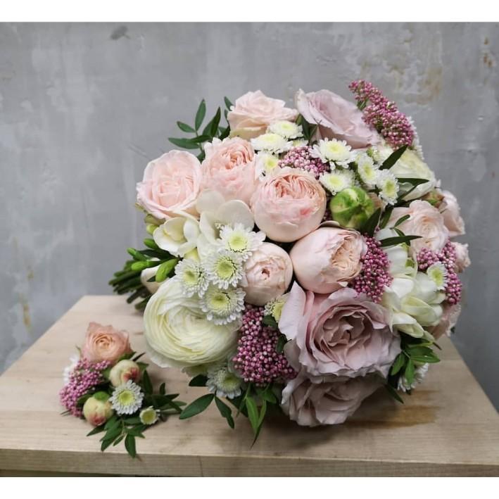"Wedding bouquet ""Menta"""