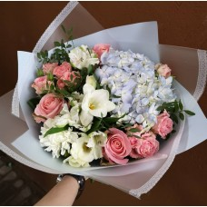 "Bouquet ""Blue sky"""
