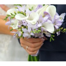 "Wedding bouquet ""Calla"""