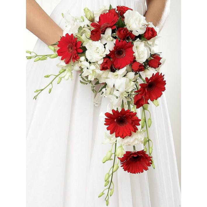 """Wedding bouquet """"Cascade"""""""
