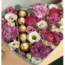 "Flower box heart ""Ferrero"""