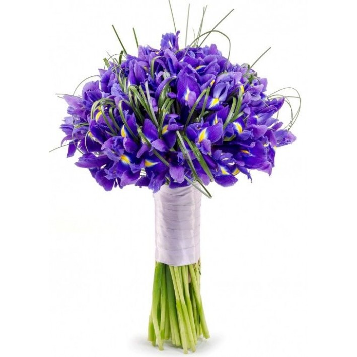 "Wedding bouquet ""Irises2"""