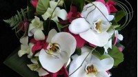 Bouquets with orhid Cymbidium