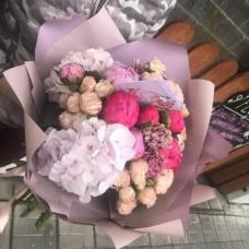 """Bouquet """" Cream"""""""