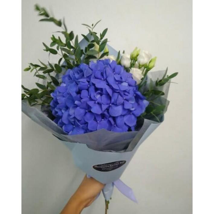 """Bouquet """" Blue cloud"""""""