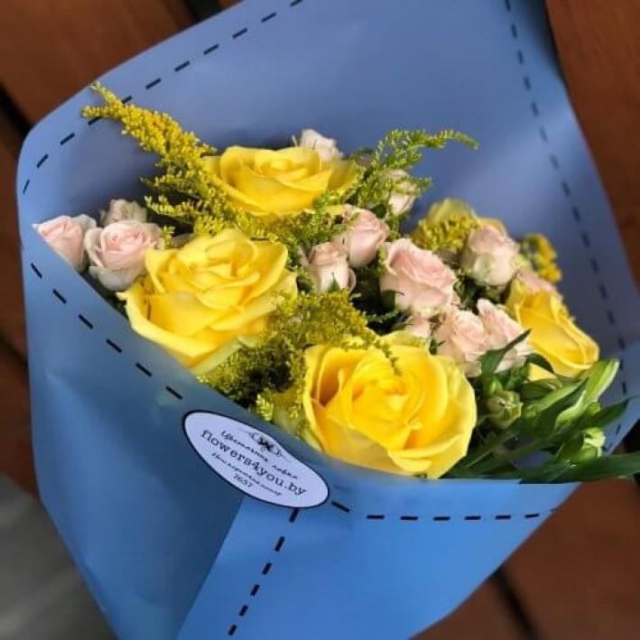 "Bouquet "" Sunny mood"""