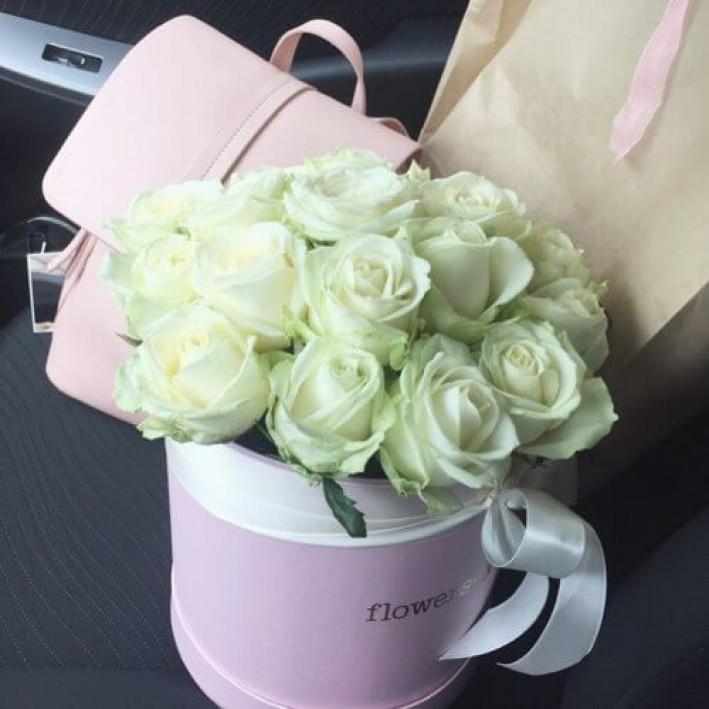 "Box ""White rose"""