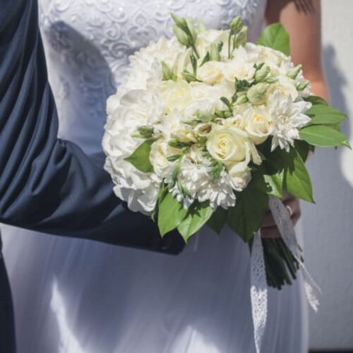 "Wedding bouquet ""Perfection"""