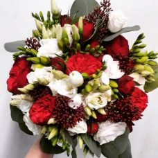 "Wedding bouquet ""Red Piano"""