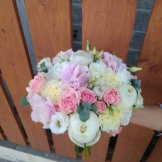 "Wedding bouquet ""Peony joy"""