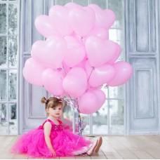 Ball-heart pink latex