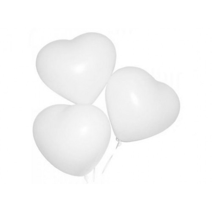 Ball-heart white latex