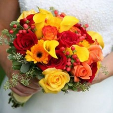 "Wedding bouquet ""Yellow"""