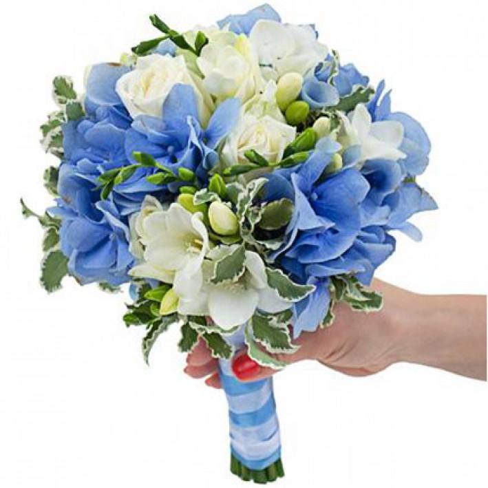 "Wedding bouquet ""Sea"""
