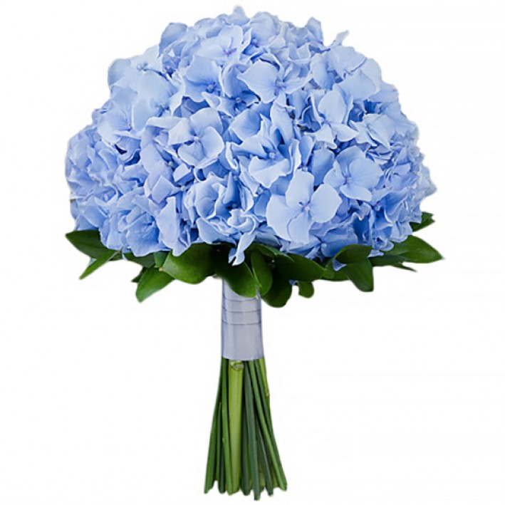 "Wedding bouquet ""Blue"""