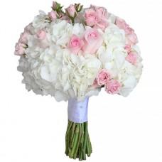 "Wedding bouquet ""Feather"""